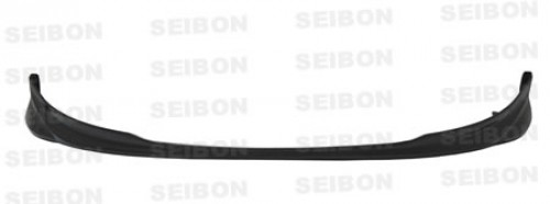 OEM-style carbon fiber front lip for 2007-2008 Toyota Yaris Liftback