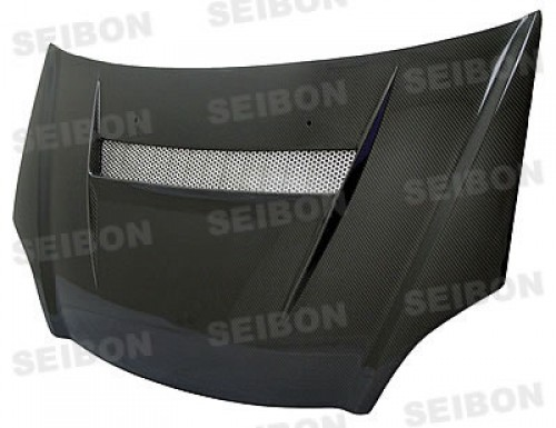 VSII-style carbon fiber hood for 2002-2005 Honda Civic Si