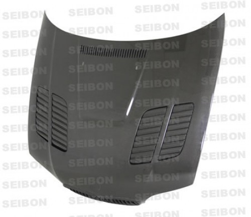 GTR-STYLE CARBON FIBER HOOD FOR 2004-2006 BMW E46 3 SERIES COUPE