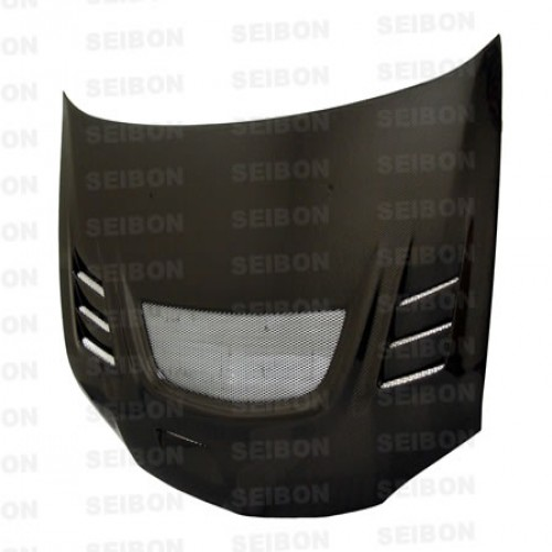 CW-style carbon fiber hood for 2003-2007 Mitsubishi Lancer EVO