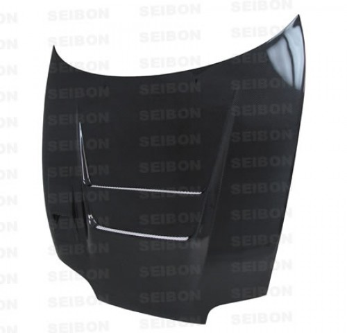 DVII-style carbon fiber hood for 1993-1998 Toyota Supra