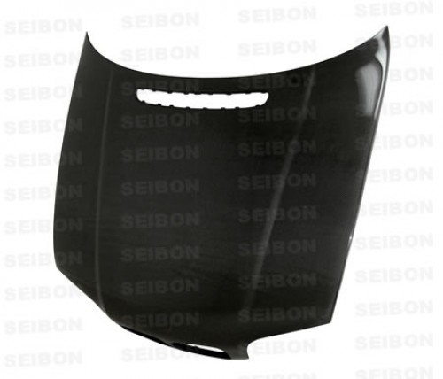 OEM-STYLE CARBON FIBER HOOD FOR 1999-2001 BMW E46 3 SERIES SEDAN