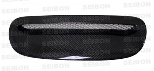 OEM-style carbon fiber hood scoop for 2002-2006 BMW Mini Cooper