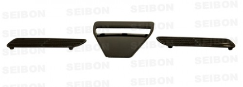 OEM-style carbon fiber hood scoop for 2008-2012 Mitsubishi Lancer EVO X