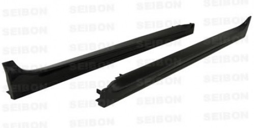 OEM-style carbon fiber side skirts for 2008-2012 Mitsubishi Lancer EVO X