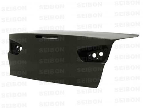 OEM-style carbon fiber trunk lid for 2008-2012 Mitsubishi Lancer EVO X