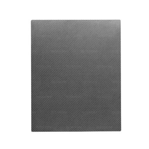 SINGLE-LAYER CARBON FIBER PRESSED SHEET