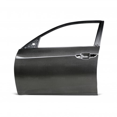 CARBON FIBER DOOR FOR 2016-2018 HONDA CIVIC HATCHBACK - Front*