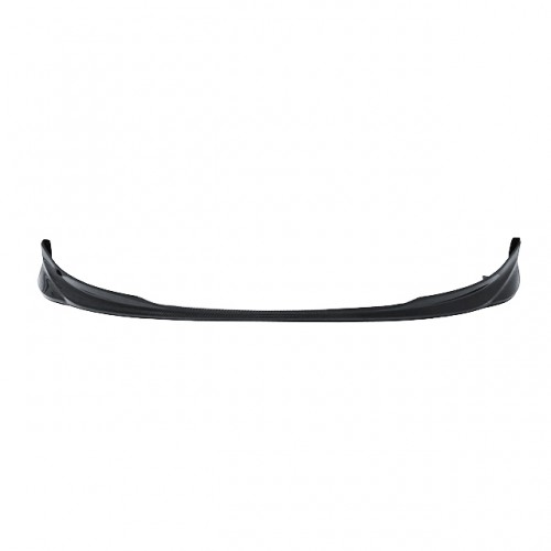 OEM-style carbon fiber front lip for 2007-2008 Toyota Yaris Liftback (straight weave)