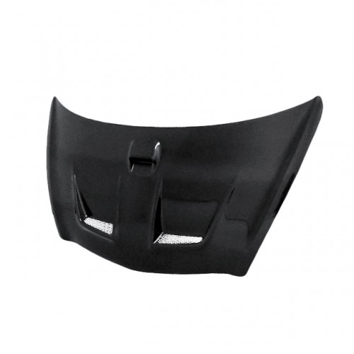 MG-Style Carbon Fiber Hood for 2003-2008 Honda Jazz (JDM) (Straight Weave)