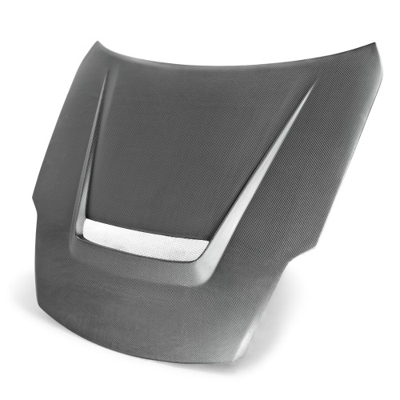 VSII-Style Carbon Fiber Hood for 2002-2008 Nissan 350Z (Matte Finish)
