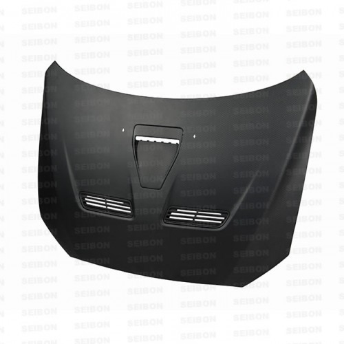 OEM-style DRY CARBON hood for 2008-2012 Mitsubishi Lancer EVO X..*ALL DRY CARBON PRODUCTS ARE MATTE FINISH!