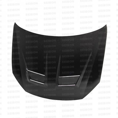 DV-style carbon fiber hood for 2010-2014 VW Golf / GTI (Shaved)