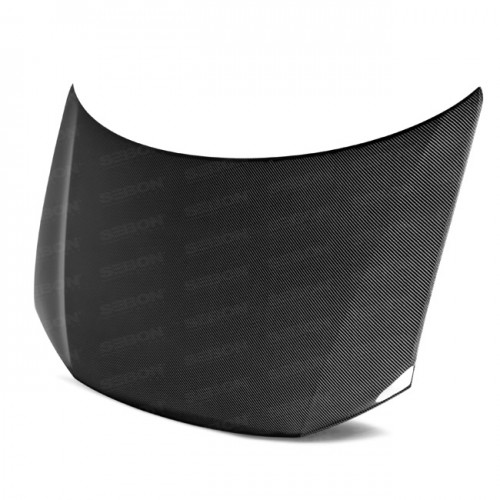 OEM-Style Carbon Fiber Hood for 2013-2015 Honda Civic 4DR