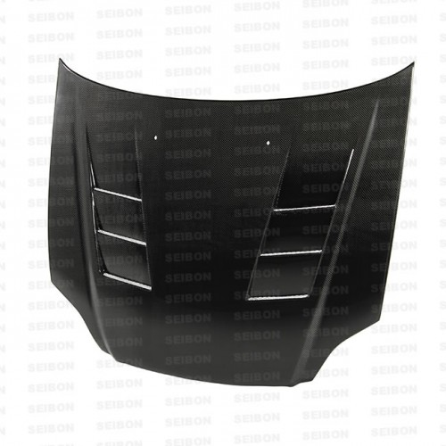 TS-style carbon fiber hood for 1999-2000 Honda Civic