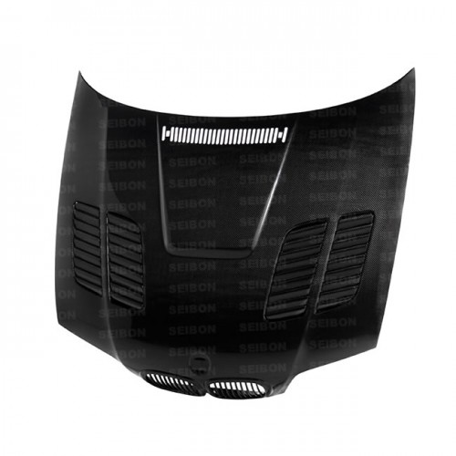 GTR-STYLE CARBON FIBER HOOD FOR 2000-2003 BMW E46 3 SERIES COUPE*