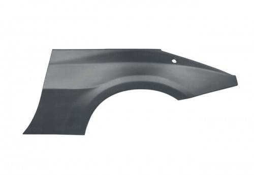 DRY CARBON rear fenders for 2002-2008 Nissan 350Z (10mm Wider)..*ALL DRY CARBON PRODUCTS ARE MATTE FINISH! (pair)