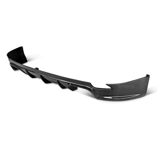 OEM-STYLE CARBON FIBER REAR LIP FOR 2008-2014 SUBARU STI / 2011-2014 WRX HATCHBACK