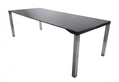 "Carbon Fiber Dining / Conference Table 39.5"" x 94.5"" x 29.5"" H"