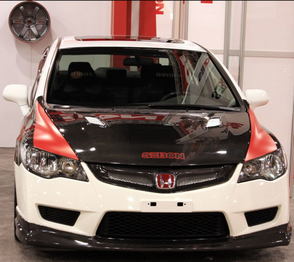 2012 Honda Civic For Sale >> MG-style carbon fiber front grille for 2006-2007 Honda ...