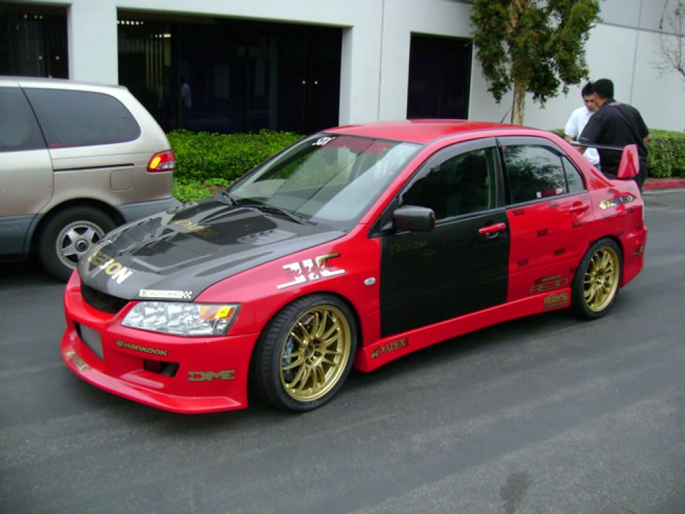 dimensions duraflex item to mitsubishi hood welcome piece race lancer extreme inventory evolution