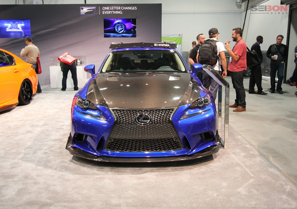 Lexus Is 350 For Sale >> TV-Style Carbon Fiber Hood for 2014-2016 Lexus IS - Products