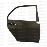 OEM-style carbon fiber doors for 2003-2007 Mitsubishi Lancer EVO (REAR) *OFF ROAD USE ONLY! (pair)