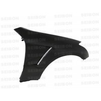 Carbon fiber fenders for 2003-2007 Infiniti G35 2DR (10mm Wider) (pair)