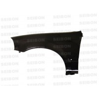 OEM-STYLE CARBON FIBER FENDERS FOR 1996-1998 HONDA CIVIC - Straight Weave