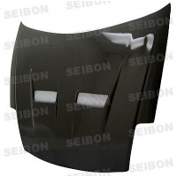 XT-style carbon fiber hood for 2000-2005 Mitsubishi Eclipse
