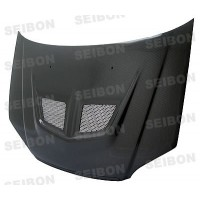 EVO-style carbon fiber hood for 2001-2003 Honda Civic