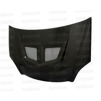 EVO-style carbon fiber hood for 2002-2005 Honda Civic Si