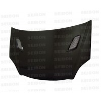 MG-style carbon fiber hood for 2002-2005 Honda Civic Si