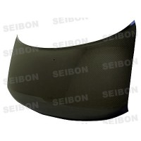 OEM-STYLE CARBON FIBER HOOD FOR 2003-2007 SCION XB - Straight Weave