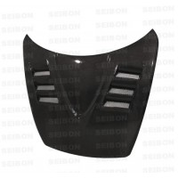 TS-style carbon fiber hood for 2004-2008 Mazda RX8
