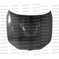 BM-STYLE CARBON FIBER HOOD FOR 2004-2010 BMW E60 5 SERIES