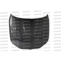 GTR-STYLE CARBON FIBER HOOD FOR 2004-2010 BMW E60 5 SERIES