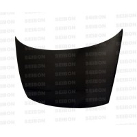 OEM-style carbon fiber hood for 2006-2010 Honda Civic 2DR
