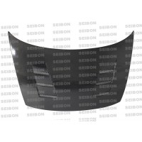 TS-style carbon fiber hood for 2006-2010 Honda Civic 2DR
