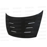 TS-style carbon fiber hood for 2006-2010 Honda Civic 4DR