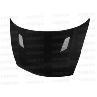 MG-style carbon fiber hood for 2006-2010 Honda Civic 4DR JDM / Acura CSX