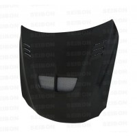 TS-style carbon fiber hood for 2006-2012 Lexus IS250/350/C