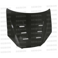 TS-style carbon fiber hood for 2008-2012 Hyundai Genesis 2DR