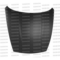 OEM-style DRY CARBON hood for 2009-2014 Nissan 370Z..*ALL DRY CARBON PRODUCTS ARE MATTE FINISH!