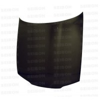 OEM-style carbon fiber hood for 1990-1994 Nissan Skyline R32