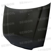 OEM-style carbon fiber hood for 1992-1995 Honda Civic 2DR/3DR