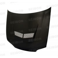 VSII-Style Carbon Fiber Hood for 1992-1995 Honda Civic Sedan