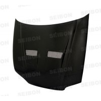 XT-Style Carbon Fiber Hood for 1992-1995 Honda Civic Sedan