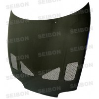 TR-style carbon fiber hood for 1993-1998 Toyota Supra