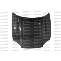 DVII-style carbon fiber hood for 1994-1998 Mitsubishi 3000GT
